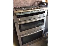 Neff double built in oven & hob