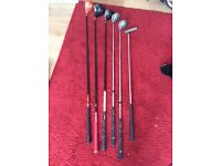 Mix of golf clubs Taylor made callaway big Bertha
