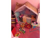 Dolls house (with extras)