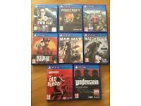 PS4 Game bundle £40 - No offers