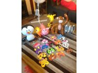 Inflatable animals toys and kids face masks, £5