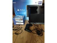 Sony PS4 2TB HDD 8 games 1 controller boxed