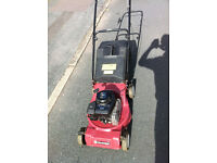 Petrol Rotary Push Mower Sovereign 44cm . Briggs & Stratton 3.5HP