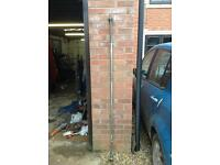 1 x 6FT Standard Barbell with Spinlocks (REDUCED)