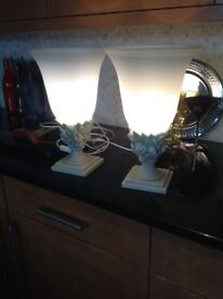 Pair of beautiful lamps.