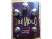 MXR M-159 Tremolo Stereo Effects Pedal