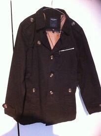 mens trench coat size MEDIUM brand new