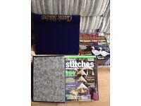 Classic Stitches 2 bound albums of magazines