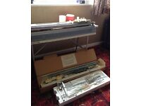 Knitting machine Brother KH850 Ribbing attachment, colour changer, free, must collect this week