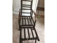 1940sdeck chair bed