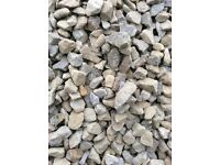 Grey garden and driveway chips/stones