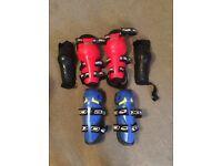 Motorcycle knee elbow pads