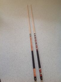 New American pool cues adult size