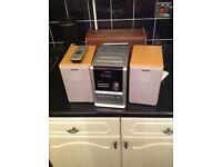 Panasonic micro cd sound system for sale.