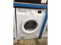 Beko white 7kg washing machine. 1200spin. £179. New/graded 12 month Gtee