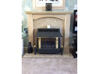 Fire surround & marble hearth great condition