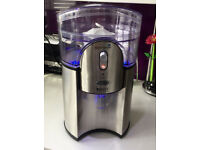 Electric Breville Water Filter Chiller Fountain - Neon Blue