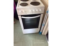 Electric free standing oven