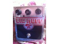 Big muff guitar sustain/ pedal (U.S.A ) w/box