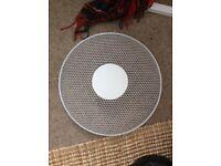 16 inch White Fan