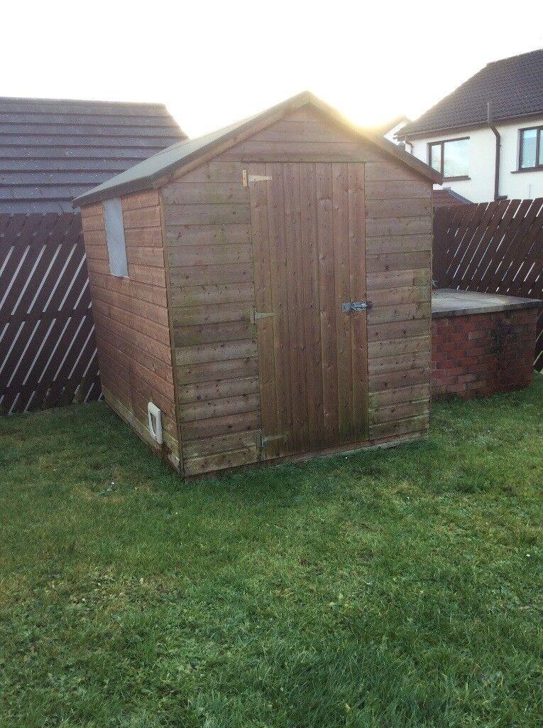 8x6 wooden overlap garden shed - Garden Sheds Gumtree