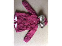 Girls Coat 3-4 years