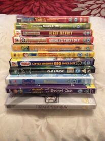 Large kids bundle of DVDS