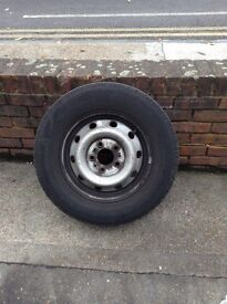 LDV Maxus Tyres and wheel