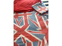 Double Union Jack quilt cover