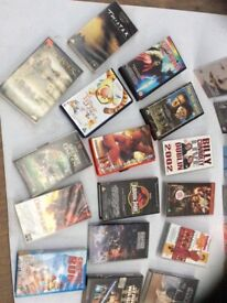 Multi collection of vhs tapes