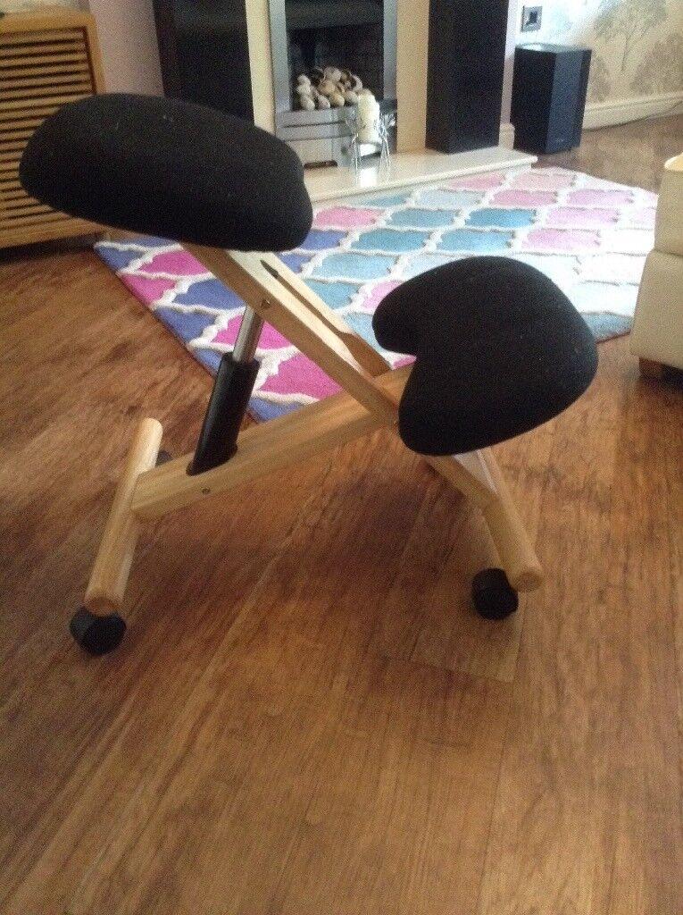 Kneeling Stool Posture Support Bad Back In Blythe
