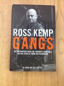 *** Reduced Price *** Ross Kemp Gangs Hardback Edition R.R.P. £16.99