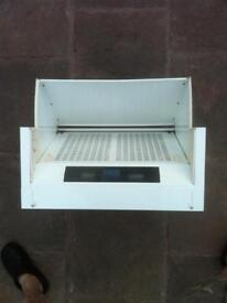 Integrated extractor hood standard size