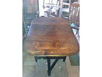 Gateleg Oak Table