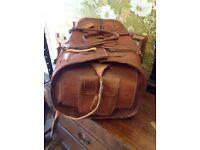 Old Vintage leather bag