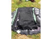 Plum trampoline safety encloser/ net