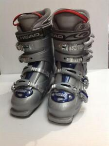 Head Ez On Down Hill Ski Boots 250-255mm Grey and Blue