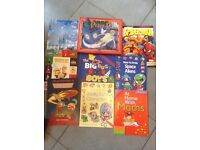 Batch of kids reading books £8.00