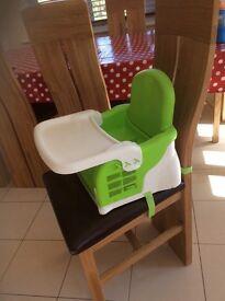 Portable baby high chair (Munchkin)