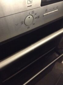Siemens Inter grated double oven/grill