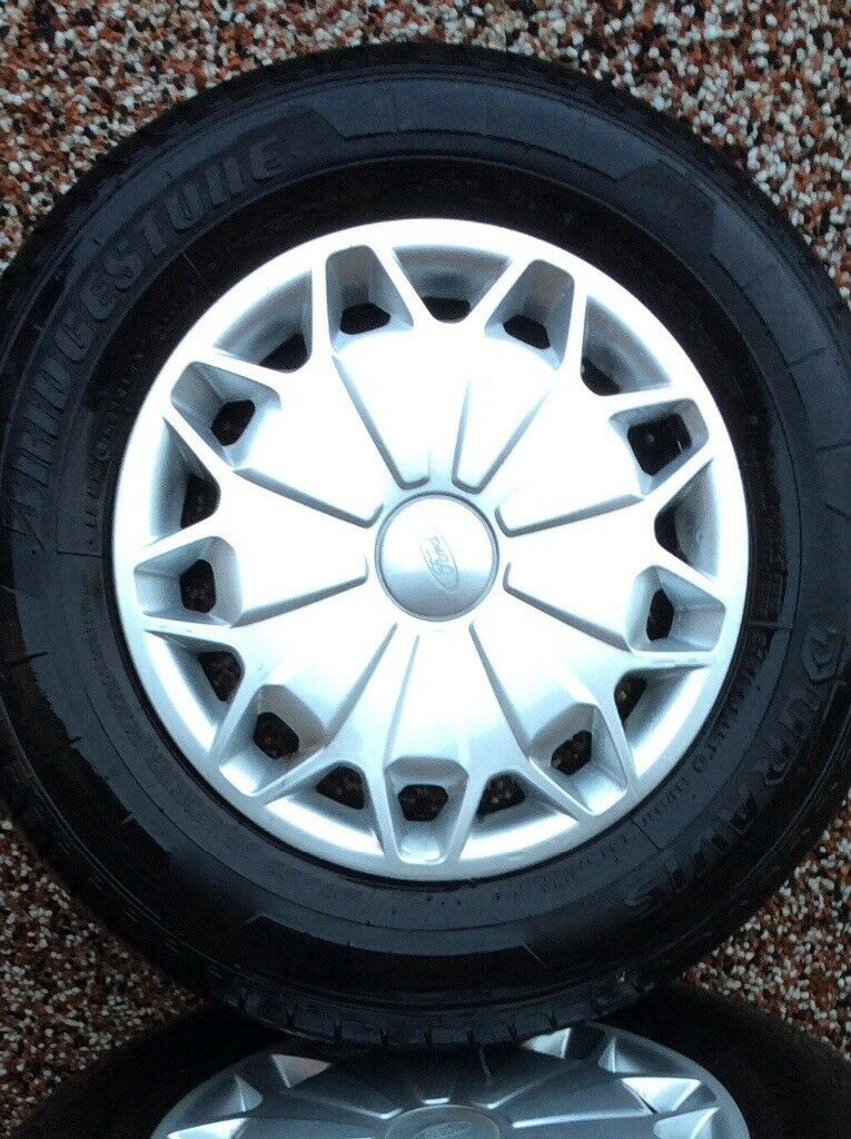 Ford transit custom wheels and tyres