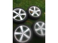 """17"""" alloys came of jag x type"""
