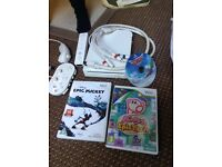 Wii with 3 games for sale