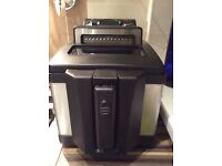 Brand new deep fryer black and chrome