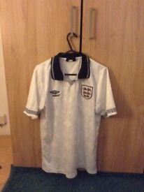 Gazza 1990 England shirt (Small)
