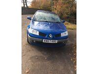 Renault Megane Dynamique Convertible - 1.6 - 2007 (57 Plate) Petrol - Manual - Blue