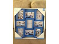 BRAND NEW - NEXT Blue Multi Picture Frame