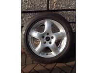 Revolution Sport Rader 16 inch Alloy with Dunlop Tyre -VW Touran Golf Jetta Passat?
