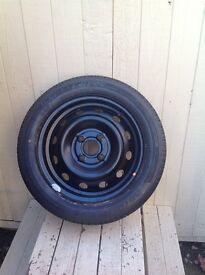 Brand new spare hyundai wheel