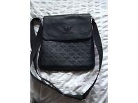 New - black Armani side bag